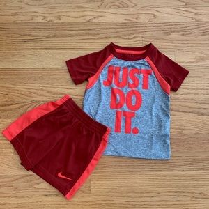 Other - Nike Toddler Boy Set- size 2T